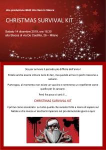 locandina evento Stecca 14 dicembre 2019